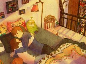 자요(Let's sleep)