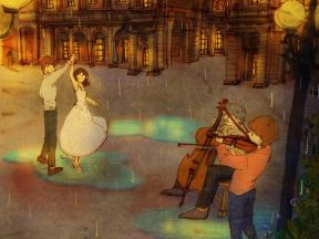빗방울속에서 춤춰요