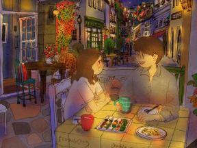 행복한 밤(A Blissful Evening)