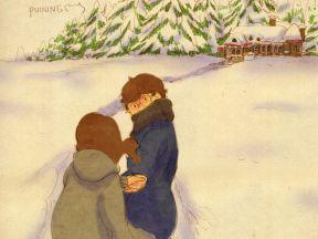 눈 길 (Snow path)